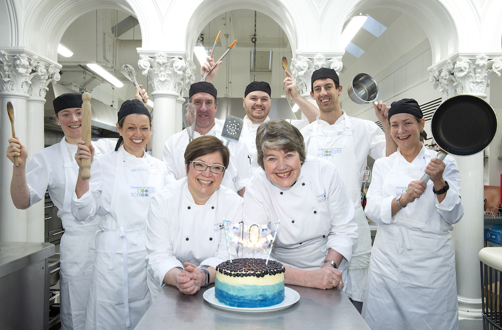 Edinburgh New Town Cookery School Celebrates 10 Years